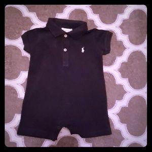 Ralph Lauren polo rumper infant baby boy